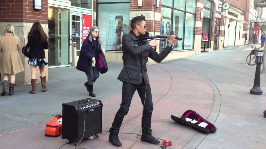 street violinist bryson andres