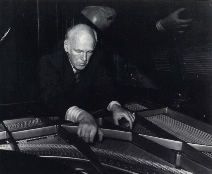 sviatoslav richter photo-sylvain Knecht