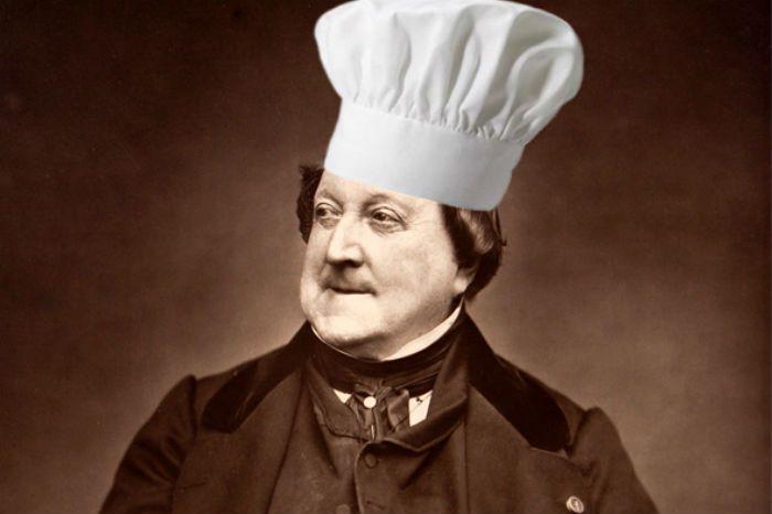 Gioachino Rossini Gourmand