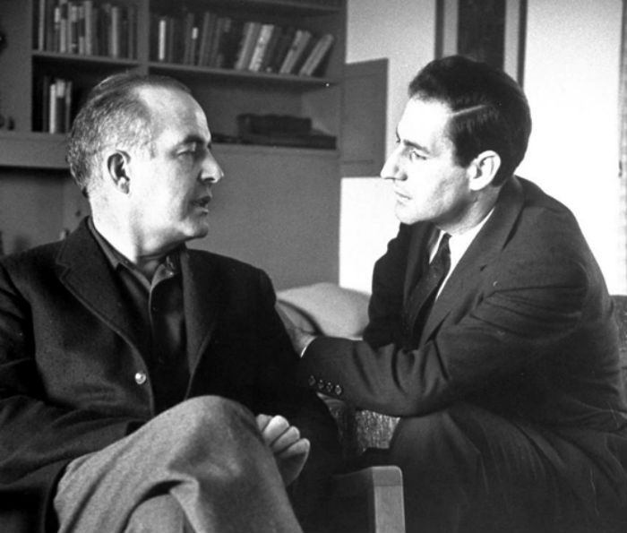 Samuel Barber and Gian Carlo Menotti in their villa, 1958 © Association Capricorn