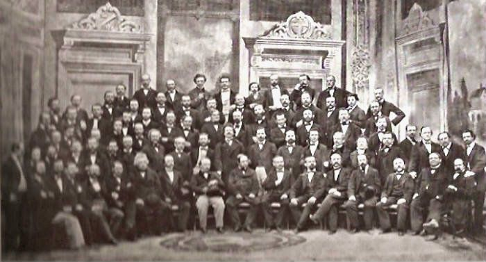 Vienna Philharmonic in 1864