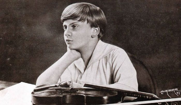 Yehudi Menuhin young child