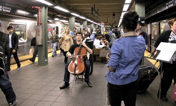 Bach in the Subway new audience in classical music