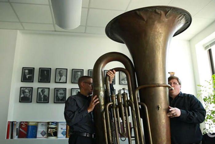 big carl largest tuba