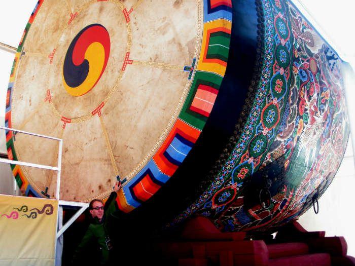 biggest drum korea