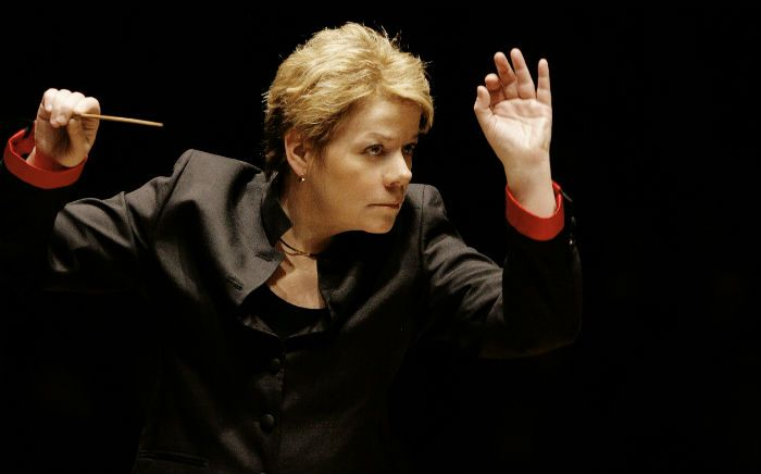 Marin Alsop, Photo credit: Grant Leighton/http://bsomusic.org