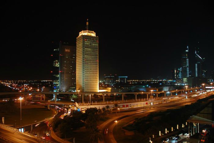 Dubai's World Trade Centre was the venue for the RPO's debut concert in the Middle East on 19 February