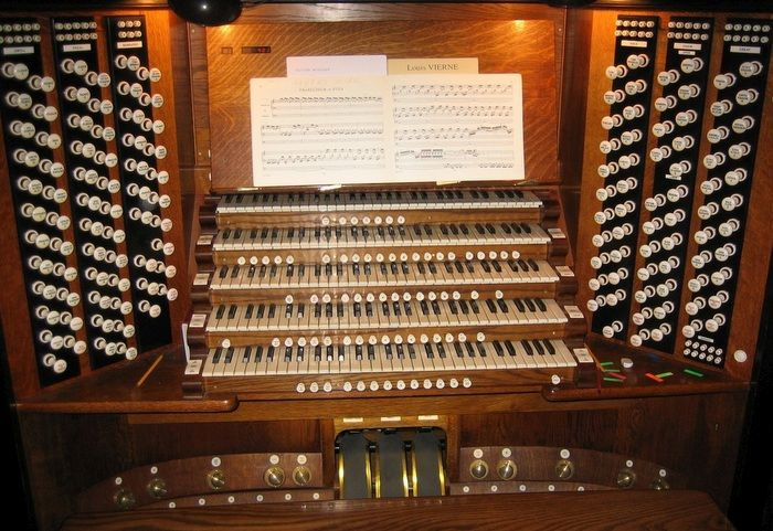 Image of Harrison and Harrison pipe organ at Westminster Abbey