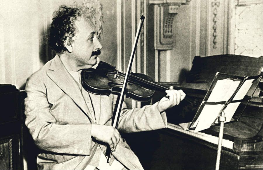 Albert Einstein Interesting Musical facts