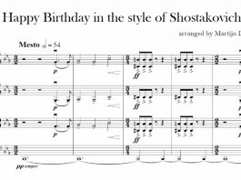 Happy Birthday, Shostakovich-Style