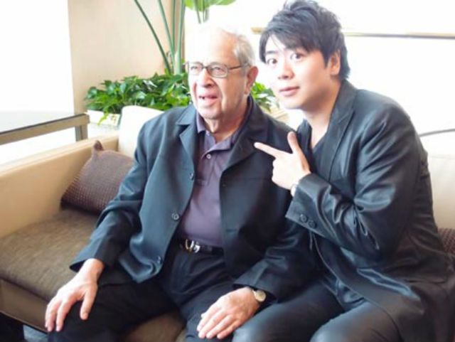 Lang Lang and his mentor Gary Graffman