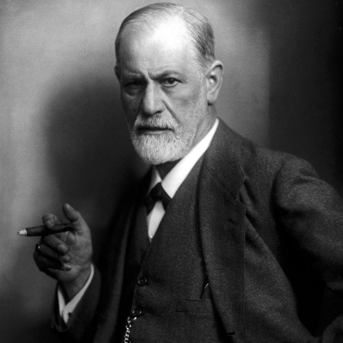 The psychiatrist Sigmund Freud (ca. 1921)