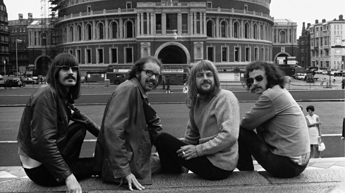 Soft Machine Outside Royal Albert Hall 1970