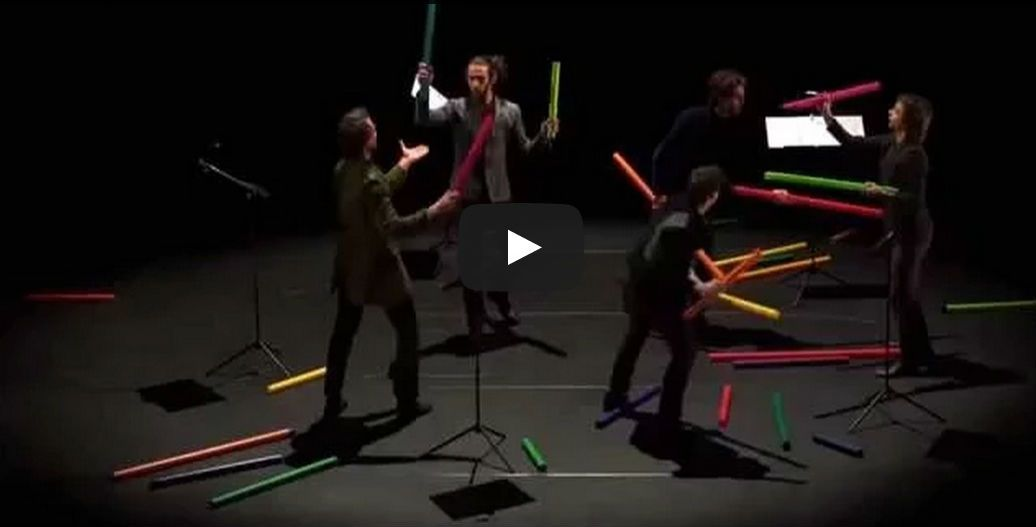 bach prelude C Major boomwhackers