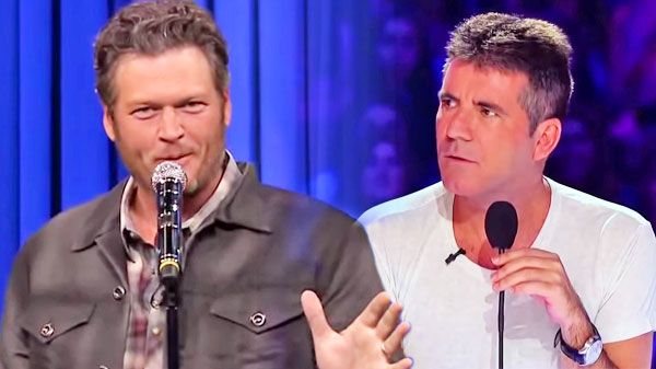 blake shelton audition x factor