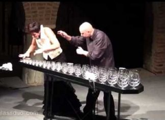 glass harp version of the Dance of the Sugar Plum Fairy