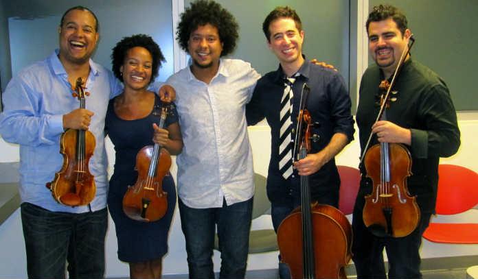 Harlem Quartet Aldo Lopez Gavilan