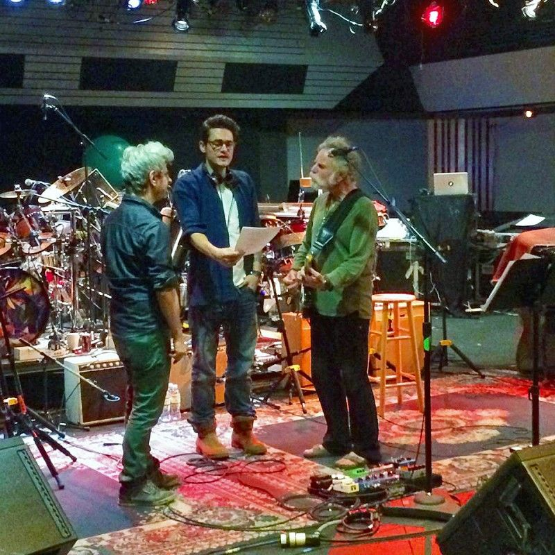 Mike Gordon John Mayer Weir Photo