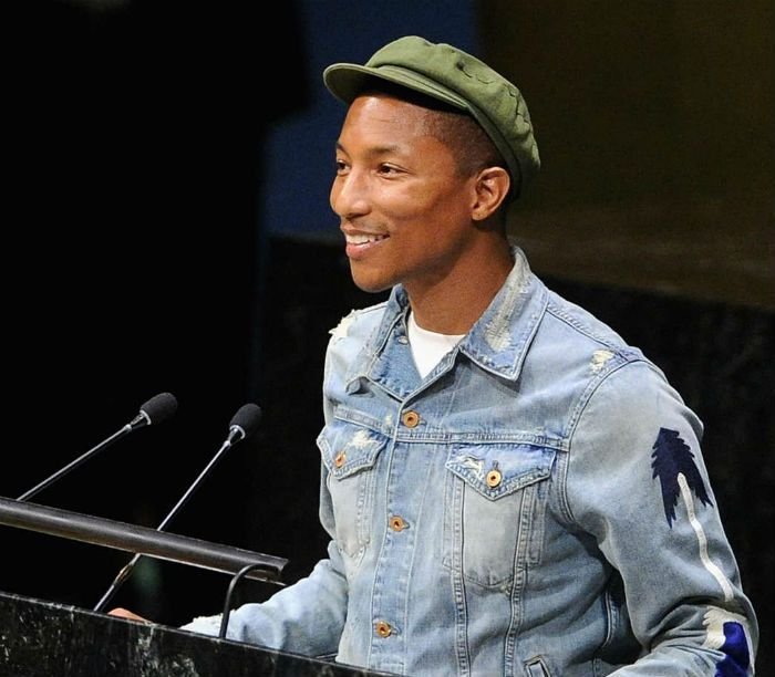 pharrell williams united nations new york city