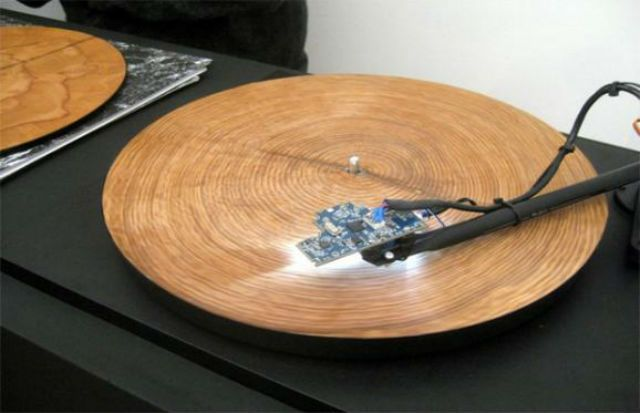 tree rings sound like on records player