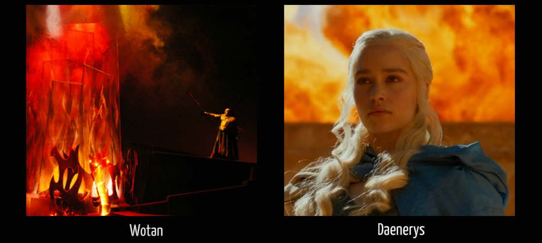 Wotan Daenerys Fire
