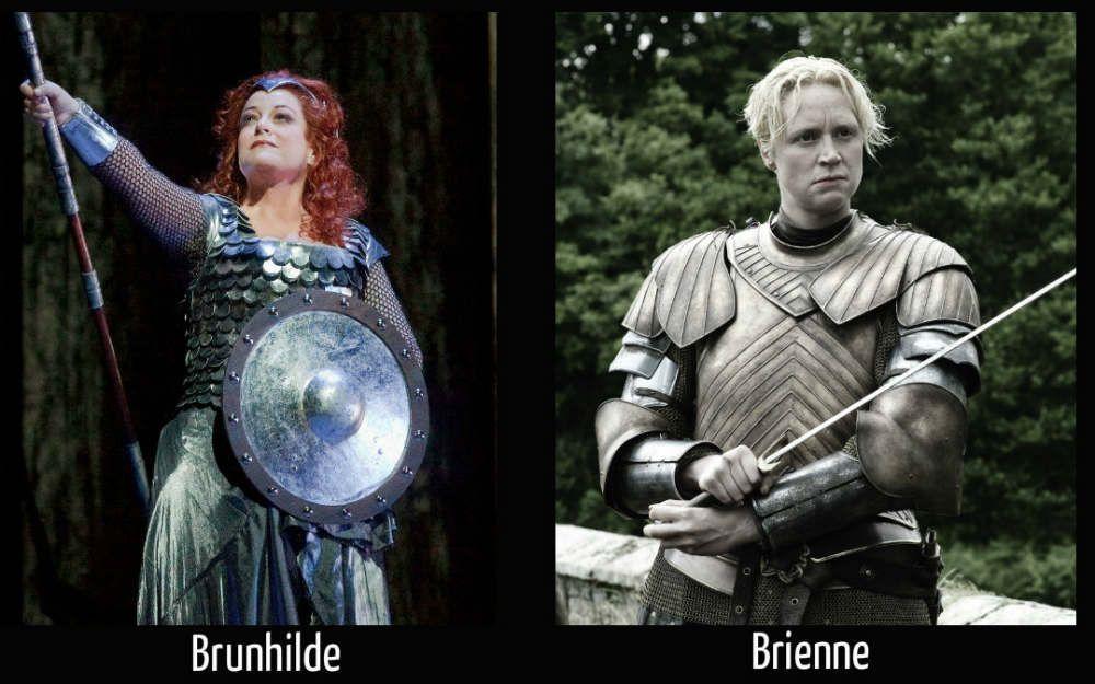 Brunhilde vs Brienne of tarth