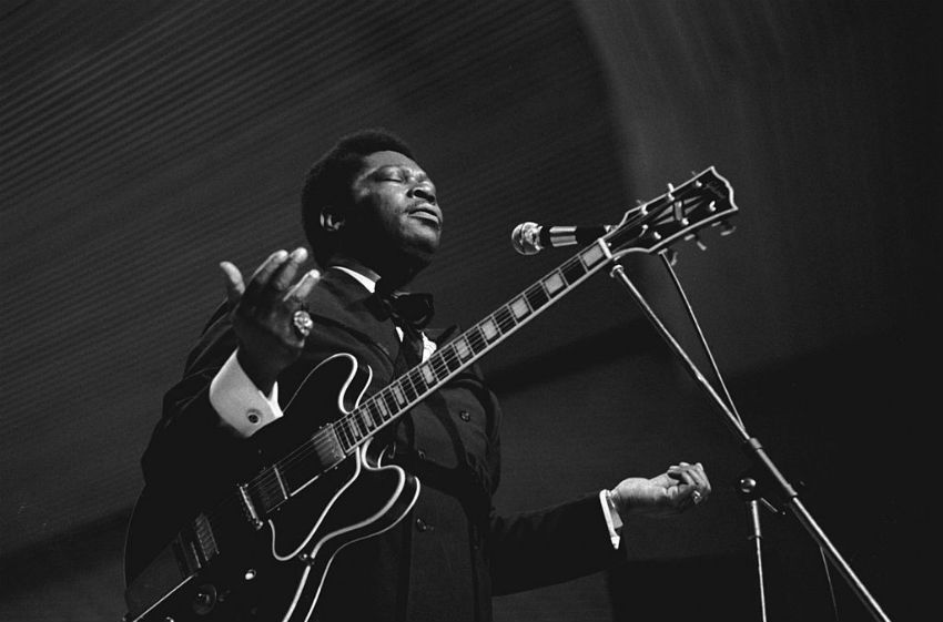 B.B. King in 1971 Photo: Heinrich Klaffs CC-BY-SA