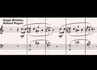 Happy Birthday in Wagner—or Tristan— Style