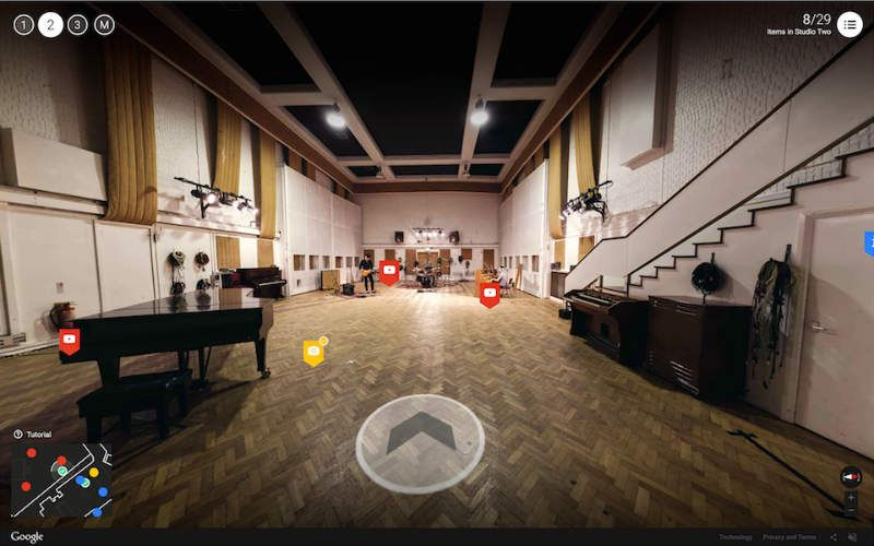 Some of the most famous pieces of music from the past fifty years have been recorded in the Abbey Road Studios
