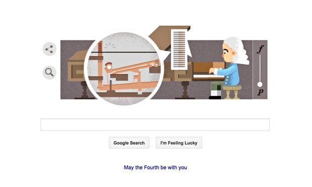 Google doodle piano