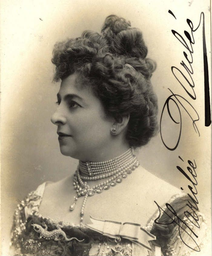Romanian Soprano Hariclea Darclée (1860 -1939)