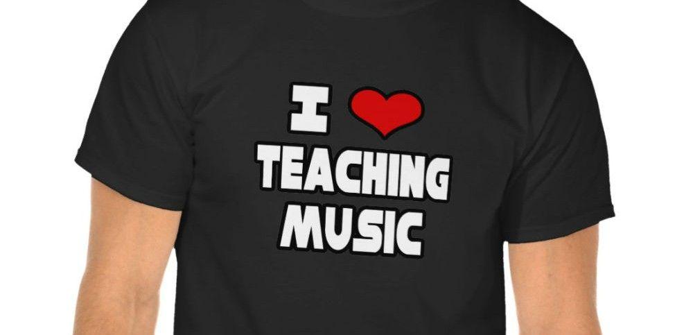 i love teaching music