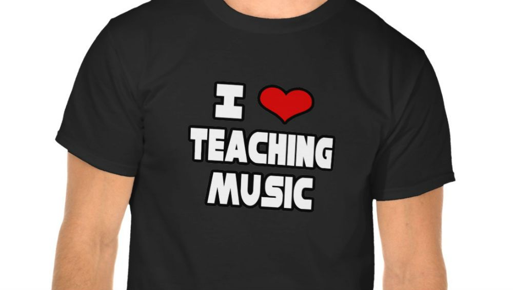 i love teaching music