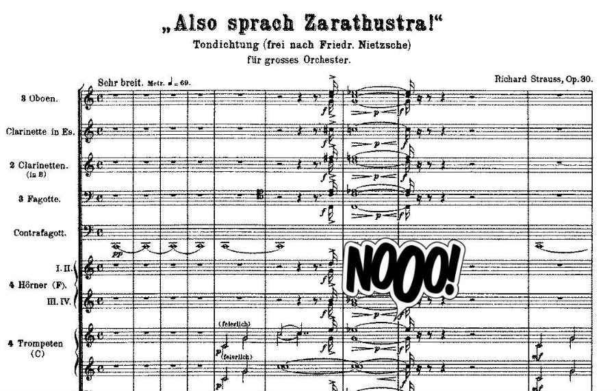 apso sprach Zarathustra strauss funny