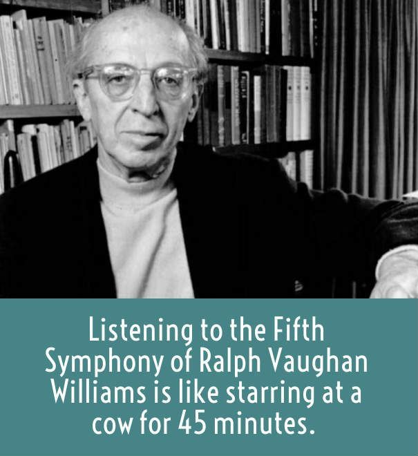 copland on Vaughan Williams