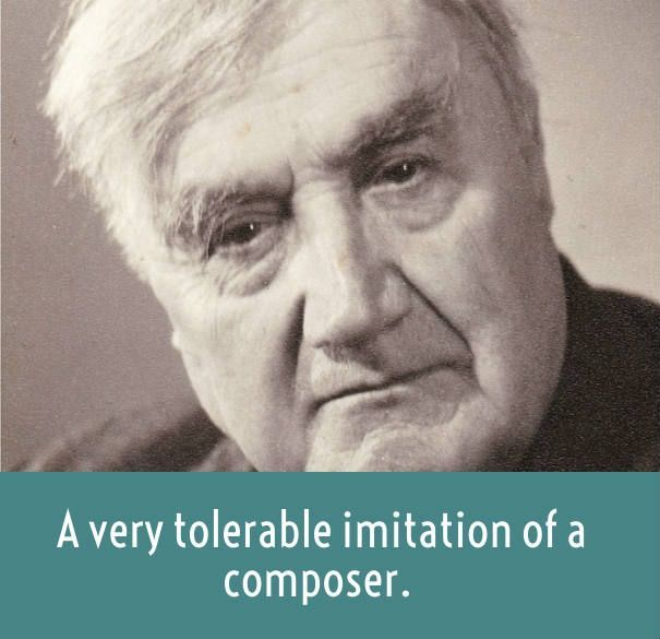 vaughan williams on Mahler