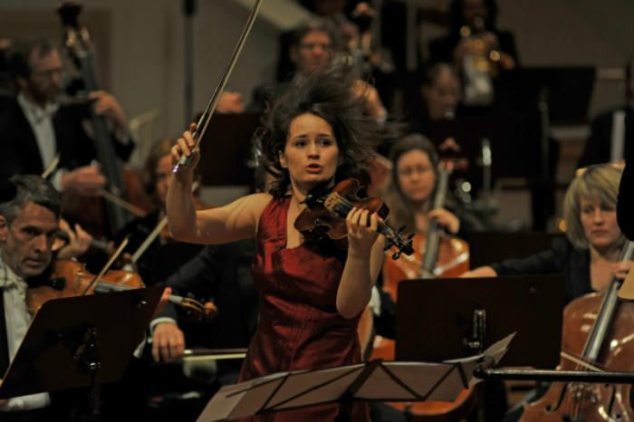 Moldovan violinist Patricia Kopatchinskaja