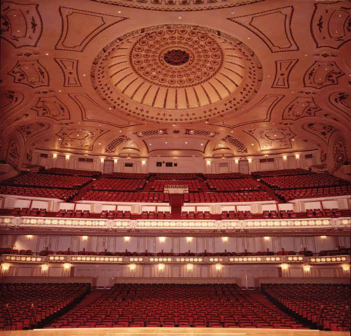 Powell Hall Auditorium Photo: Dan Dreyfus