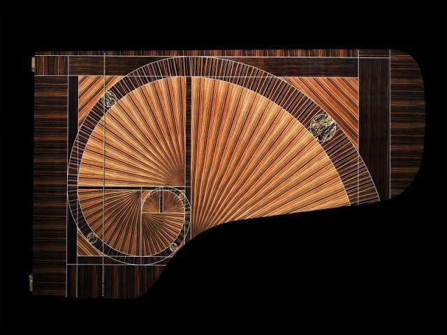 The Fibonacci piano Steinway