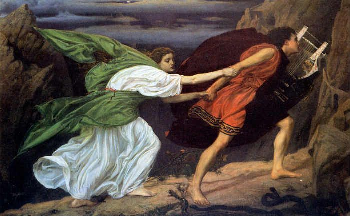 orpheus and eurydice poynter