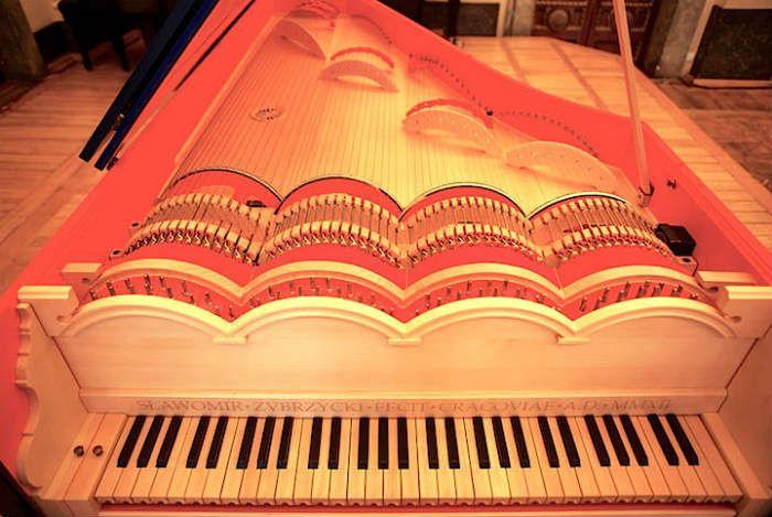 viola organista leonardo da vinci