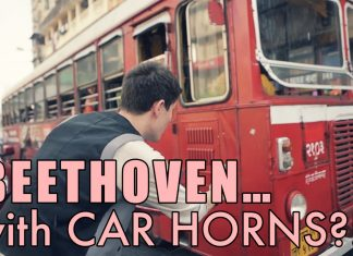 Beethoven Reinterpreted With Car Horn Honks