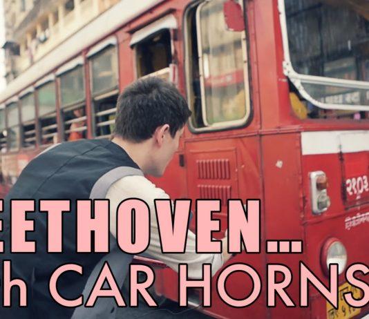 Beethoven Reinterpreted With Car Horn Honks