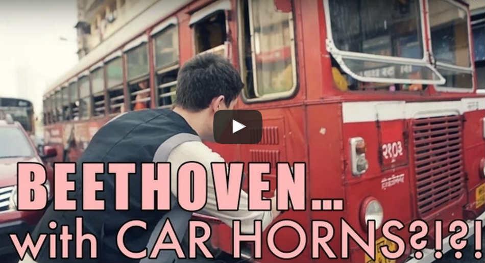 Beethoven car horns