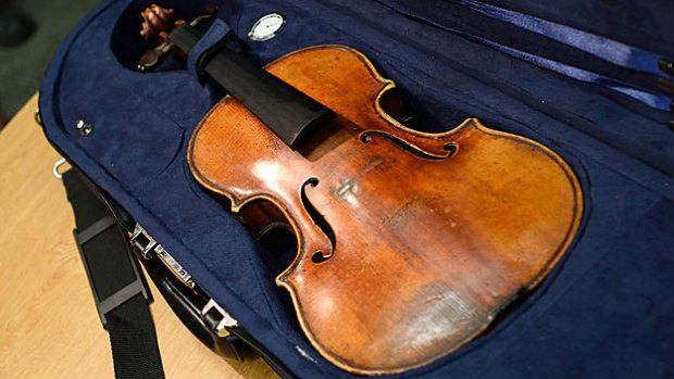 The stolen Stradivarius violin belonging to the late renowned violinist Roman Totenberg