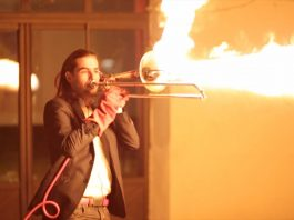 Trombone That Shoots Flames
