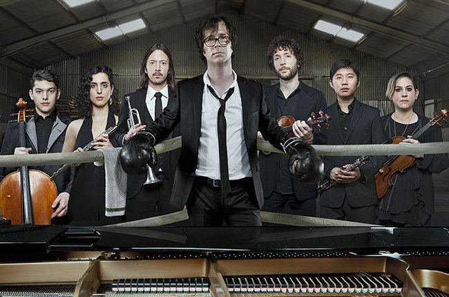 Ben Folds with yMusic. Allan Amato