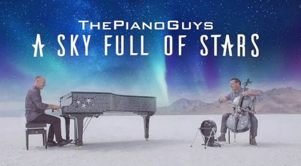 piano guys sky full of stars coldplay