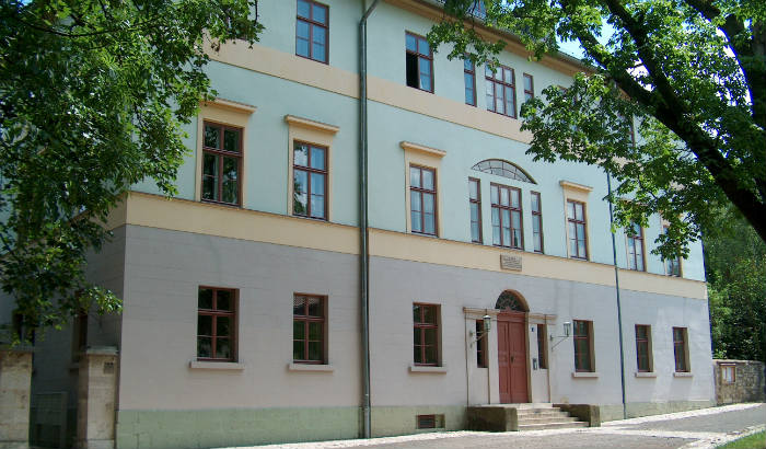 Liszt's residence in Weimar where he wrote the first 12 of his symphonic poems.