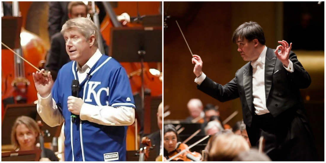 Michael Stern of the Kansas City Symphony challenges Alan Gilbert of the New York Philharmonic to a bet that the Royals will win the World Series.